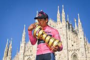 Foto Fabio Ferrari/LaPresse <br /> 30 maggio 2021 Italia<br /> Sport Ciclismo<br /> Giro d'Italia 2021 - edizione 104 - Tappa 21 - Gara cronometro individuale - Da Senago a Milano (km 30,3)<br /> Nella foto: <br /> <br /> Photo Fabio Ferrari/LaPresse<br /> May 30, 2021  Italy  <br /> Sport Cycling<br /> Giro d'Italia 2021 - 104th edition - Stage 21 - ITT - from Senago to Milan <br /> In the pic: