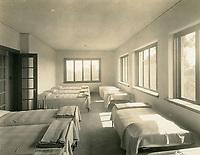 1926 Sleeping porch at the Hollywood Studio Club on Lodi Pl.