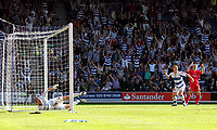 Photo: © Andrew Fosker / Richard Lane Photography -  Ben Watson (R) begins to celebrate his goal as Barnsley keeper David Preece fumbles the shot into the net for  QPR's fourth goal - Queens Park Rangers v Barnsley - Coca-Cola Championship - 26/09/09 Loftus Road - London -  UK - All Rights Reserved