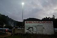 The entrance of the zapatist community (caracol) of Morelia.<br /> La entrada del caracol de Morelia.