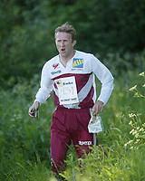 Orientering, 21. juni 2002. NM sprint. Carl Henrik Bjørseth, Nydalen.