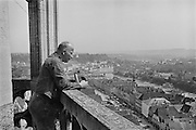 General view of Steyr from the church tower, Austria, 1937