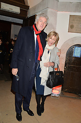 HENRY WYNDHAM and ANNABEL ELLIOT at the Fortnum & Mason and Quintessentially Foundation Fayre of St.James's in association with The Crown Estate held at St.James's Church, Piccadilly followed but a reception at Fortnum & Mason, Piccadilly,London on 5th December 2013.