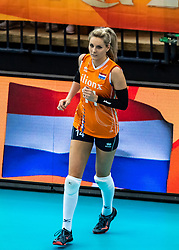15-10-2018 JPN: World Championship Volleyball Women day 16, Nagoya<br /> Netherlands - USA 3-2 / Laura Dijkema #14 of Netherlands
