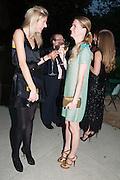 OPHELIA HOHLER; CHLOE DELEVIGNE, The Cartier Chelsea Flower show dinner. Hurlingham club, London. 20 May 2013.