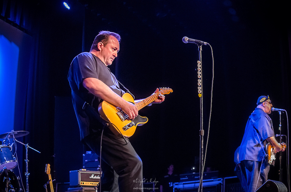 Jim Babjak and Pat DiNizio of The Smithereens performing at The Landis Theater in Vineland, NJ.