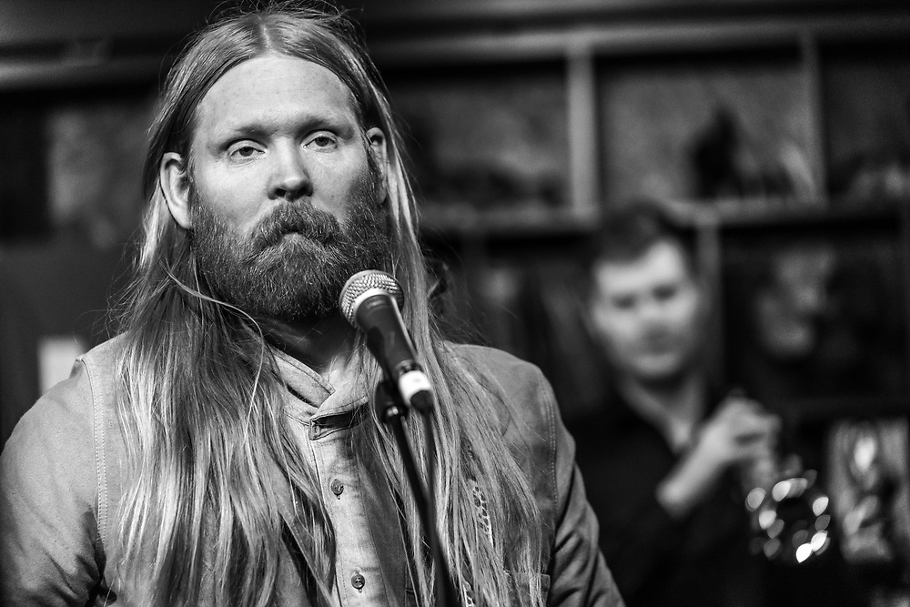 Icelandic singer-songwriter Unnar Gísli Sigurmundsson aka Júníus Meyvant at Iceland Airwaves