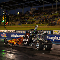 Katrina Bowman (4596) takes the green light in her Junior Dragster at Perth Motorplex.