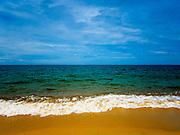 15 JUNE 2105 - BAN THONG, NARATHIWAT, THAILAND:   Ban Thong beach in Narathiwat, Thailand.     PHOTO BY JACK KURTZ