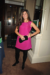ELIZABETH SALTZMAN at a party to celebrate the publication of Top Tips For Girls by Kate Reardon held at Claridge's, Brook Street, London on 28th January 2008.<br />