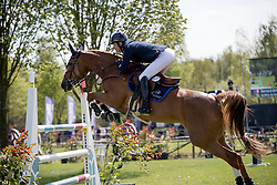 Briand Chevalier Bernard, FRA, Qadillac du Heup<br /> Longines Grand Prix<br /> CSIO Lummen 2017<br /> © Dirk Caremans<br /> 30/04/2017
