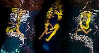 An undersea ballet in the Senhanom Cave, Rota