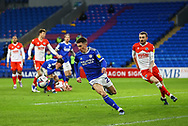 Cardiff City's Harry Wilson (23) in action during the EFL Sky Bet Championship match between Cardiff City and Millwall at the Cardiff City Stadium, Cardiff, Wales on 30 January 2021.