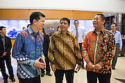 Indonesia dignitaries visit Marvell Technology Group Ltd. in Santa Clara, California, on October 28, 2015. (Stan Olszewski/SOSKIphoto)