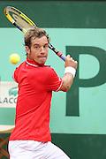Roland Garros 2011. Paris, France. May 27th 2011..French player Richard GASQUET against Thomaz BELLUCCI