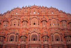 Hawa Mahal at Jaipur; India,