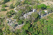Aerial view of St. John's Parish Church, Barbados