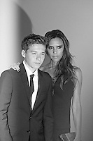 LONDON - June 04: Brooklyn Beckham & Victoria Beckham at the Glamour Women of the Year Awards 2013 (Photo by Brett D. Cove)