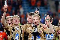 OSLO 20091108. Cupfinalen i fotball for menn mellom Molde og Aalesund på Ullevaal Stadion i Oslo søndag ettermiddag. Foto: Svein Ove Ekornesvåg