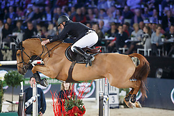 Bost Roger Yves, (FRA), Sydney Une Prince <br /> Longines FEI World Cup presented by Landrover<br /> Vlaanderen Kerstjumping - Memorial Eric Wauters - <br /> Mechelen 2015<br /> © Hippo Foto - Dirk Caremans<br /> 30/12/15
