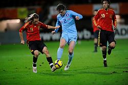 17-11-2009 VOETBAL: JONG ORANJE - JONG SPANJE: ROTTERDAM<br /> Nederland wint met 2-1 van Spanje / Daryl Janmaat en Diego Capel<br /> ©2009-WWW.FOTOHOOGENDOORN.NL