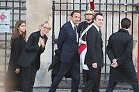 Claude Chirac_Martin Chirac  Obsèques de Jacques Chirac Lundi 30 Septembre 2019 église Saint Sulpice Paris