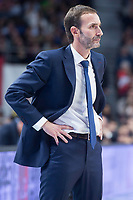 FC Barcelona Lassa coach Sito Alonso during Turkish Airlines Euroleague match between Real Madrid and FC Barcelona Lassa at Wizink Center in Madrid, Spain. December 14, 2017. (ALTERPHOTOS/Borja B.Hojas)