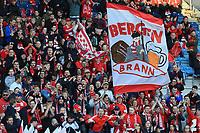 Fotball , 13. april 2019 , Eliteserien , Viking Stavanger - Brann Bergen.<br />Brann fans<br />Foto: Andrew Halseid Budd , Digitalsport