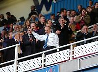 Photo: Kevin Poolman.<br />Reading v Derby County. Coca Cola Championship. 01/04/2006. Steve Coppell celebrates Reading' Championship win.