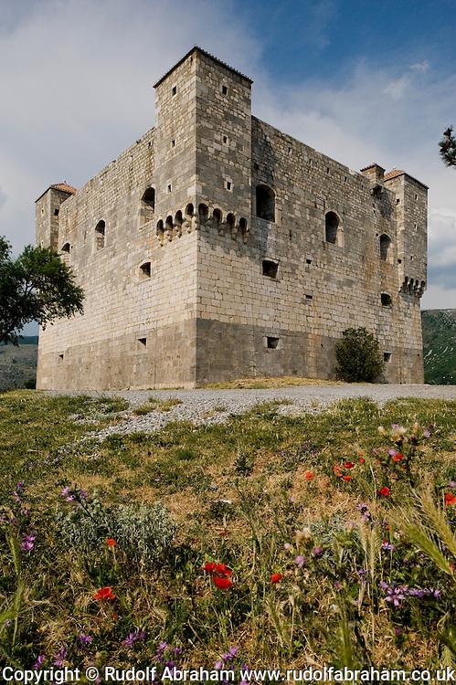 The 16th century Nehaj fortress, stronhold of the Uskoks until 1617, Senj, Croatia