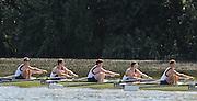 Caversham, Great Britain, GBR JM8+ left to right; Joel Cooper (Abingdon School)/<br /> Elliott Piercy (St Georges College)/<br /> Harry Lonergan (Shrewsbury School)/<br /> Morgan Bolding (Walton RC)/<br /> Matthew Carter (Abingdon School), Junior Training Camp,at the Redgrave Pinsent Rowing Lake. GB Rowing Training centre. Thursday  01/08/2013c  [Mandatory Credit. Peter Spurrier/Intersport Images]