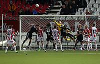Fotball<br /> Tippeliga 2013<br /> Tromsø IL - Rosenborg BK<br /> 15.09.2013<br /> <br /> Marcus Sahlman, Tromsø<br /> Thomas Drage, Tromsø<br /> Mikke MIX Diskerud, Rosenborg<br /> Mikael Dorsin, Rosenborg<br /> Jaroslav Fojut, Tromsø<br /> Zdenek Ondrasek, Tromsø<br /> John Chibuike, Rosenborg<br /> <br /> Foto: Tom Benjaminsen, Digitalsport