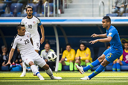 June 22, 2018 - Sankt Petersburg, Russia - 180622 David Guzman of Costa Rica and Casemiro of Brazil during the FIFA World Cup group stage match between Brazil and Costa Rica on June 22, 2018 in Sankt Petersburg..Photo: Petter Arvidson / BILDBYRÃ…N / kod PA / 92075 (Credit Image: © Petter Arvidson/Bildbyran via ZUMA Press)