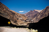A scene from Route Nacional 7, which connects the Mendoza region to the Argentina's Chilean border and leads to Punte del Inca.
