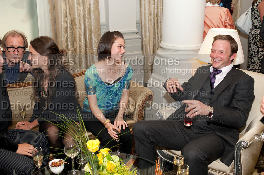 BILL NIGHY; FRAN HICKMAN; JANE WILD;  RUPERT PENRY-JONES. Langham Hotel party after a major renovation. Portland Place, London. 10 June 2009