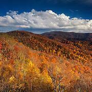 Cherohala Skyway - Fall Color - Great Smoky Mountains