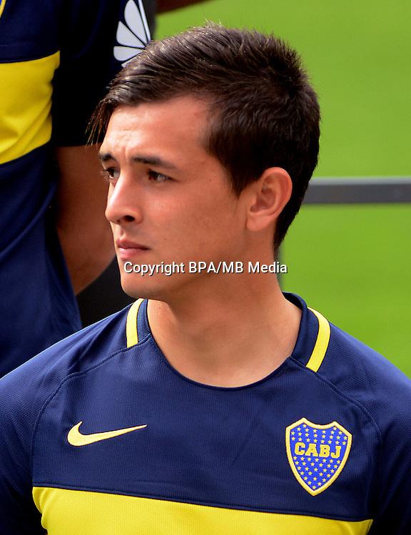 Argentina Football League First Division - Axion Energy 2016-2017 / <br /> Club Atletico Boca Juniors - <br /> Adrian Cubas