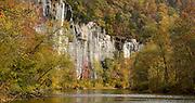 Fall color along the Buffalo National River.