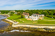 Cliff Walk, Mansions, Newport, Rhode Island, USA