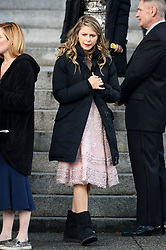 Melissa Benoist blows bubbles with her gum while filming Supergirl in Vancouver. Melissa was seen attending the wedding of Barry Allen and Iris West. Melissa was seen wearing a pink dress and blowing bubbles as she relaxed between scenes off set. 11 Oct 2017 Pictured: Melissa Benoist, Supergirl. Photo credit: Atlantic Images/MEGA TheMegaAgency.com +1 888 505 6342