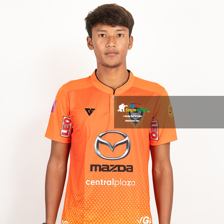 THAILAND - JUNE 25: Varadorn Unart #3 of Nakhonratchasrima Mazda FC on June 25, 2019.<br /> .<br /> .<br /> .<br /> (Photo by: Naratip Golf Srisupab/SEALs Sports Images/MB Media Solutions)
