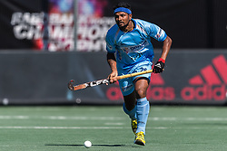 Birenda Lakra of India during the Champions Trophy finale between the Australia and India on the fields of BH&BC Breda on Juli 1, 2018 in Breda, the Netherlands.