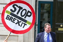 © Licensed to London News Pictures. 06/08/2019. London, UK. Conservative Party Chief Whip MARK SPENCER walks from the Cabinet Office in Whitehall. Photo credit: Dinendra Haria/LNP