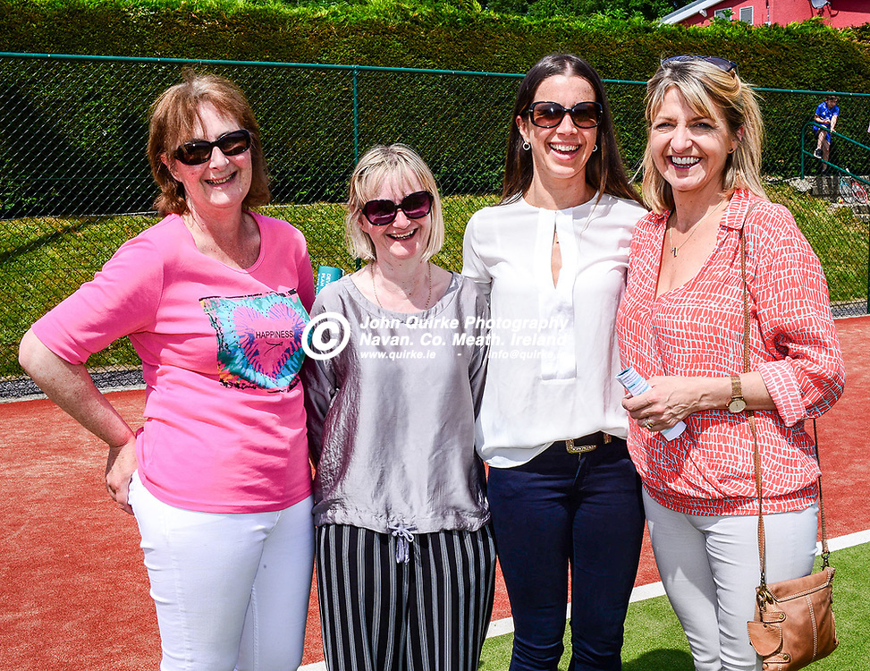 Pictured  at the Stackallen Tennis and Pitch & Putt open day in Stackallen, Slane are members of Stackallen Tennis and Pitch& Putt club from left: Deirdre Donnellan, Mary Donnellan, SHULAGH Callan and tracy Mccabe.<br /> <br /> Photo: GERRY SHANAHAN-WWW.QUIRKE.IE<br /> <br /> 07-07-2019
