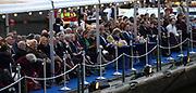 Koning Willem-Alexander, koningin Máxima en prinses Beatrix woonden maandagavond het traditionele 5 meiconcert bij op de Amstel in Amsterdam.<br /> <br /> King Willem-Alexander, Queen Maxima and Princes  Beatrix attended the traditional 5 meiconcert ( on liberatioon day ) at the Amstel River in Amsterdam.<br /> <br /> Op de foto/ On the photo:  Koning Willem-Alexander en koningin Maxima met prinses Beatrix / King Willem-Alexander and Queen Maxima with princes Beatrix