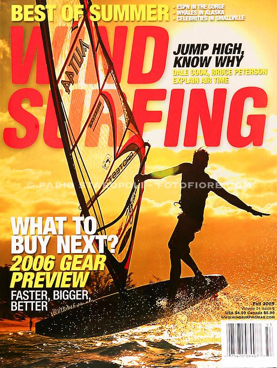 Cover Wind Surfing USA n 24  2005 Spreksville, Maui - Hawaii
