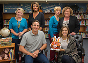 "Jason and Maris Castro read ""Bunny Cakes"" to students at Fonwood ECC, October 21, 2014."