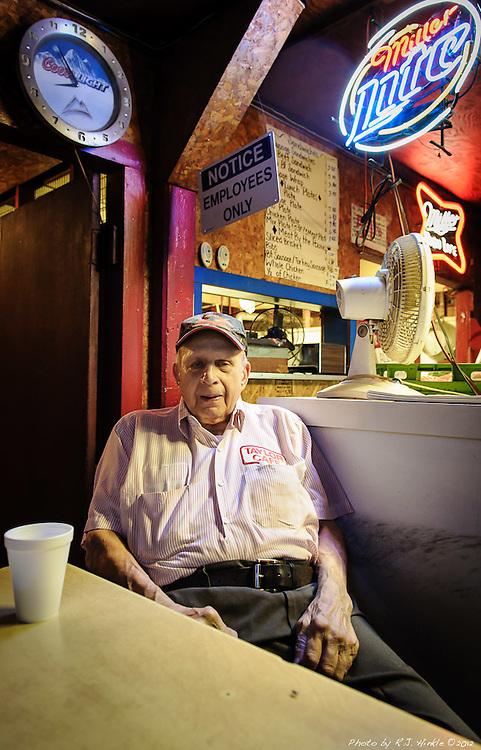 Taylor Cafe, Taylor, Texas. Vencil Mares, Proprietor