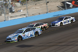 November 12, 2017 - Avondale, Arizona, United States of America - November 12, 2017 - Avondale, Arizona, USA: Kevin Harvick (4) battles for position during the Can-Am 500(k) at Phoenix Raceway in Avondale, Arizona. (Credit Image: © Justin R. Noe Asp Inc/ASP via ZUMA Wire)