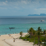 Bulow beach from above, Lo Lipe, Thailand